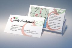 Cottle Orchards Business Cards