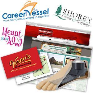Logo Design, Illustration, Web Design, Business Cards