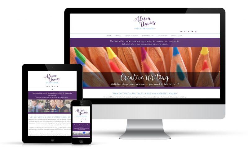 Alison Davies Web Design
