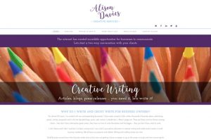Alison Davies website