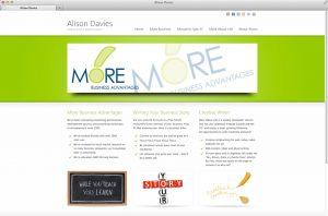 Alison Davies' Website