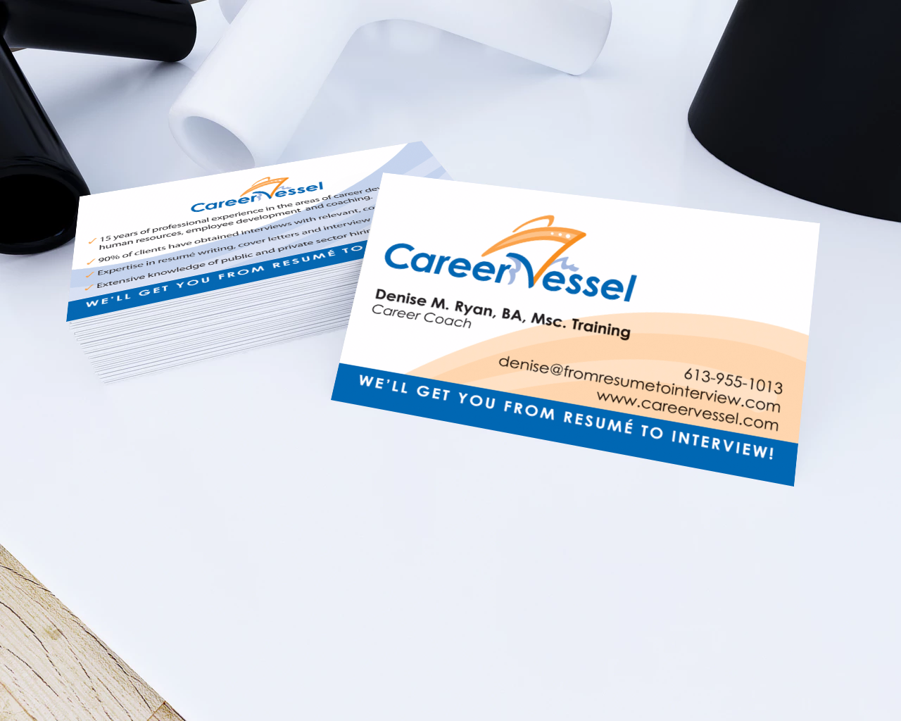 Career Vessel Business Card
