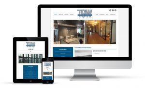 Trenton Glass Website Redesign