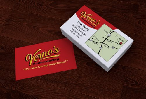 Vernos Business Card