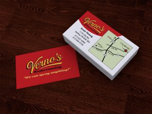 Vernos Business Card