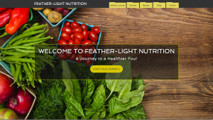 Feather-Light Nutrition Website