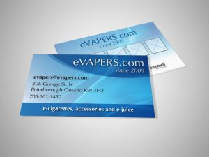 eVapers Business Card