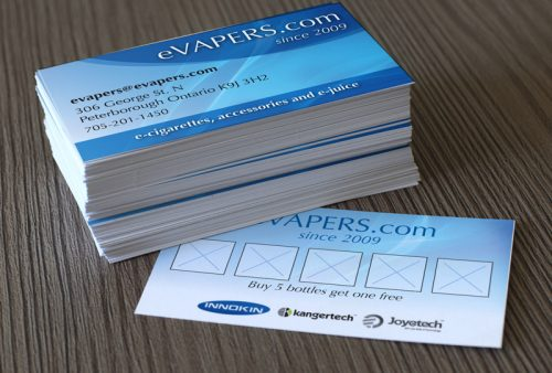 eVapers Business Cards
