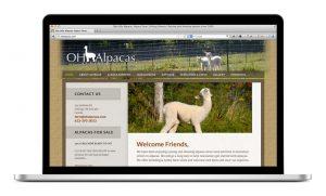 Oak Hills Alpacas Website