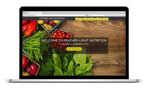Feather Light Nutrition Website