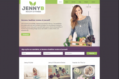 Jenny B Health & Fitness Home Page