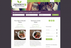 Jenny B Health & Fitness Recipes Page