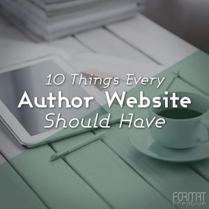 10 Things Every Author Website Should Have
