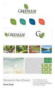 Greenleaf Accounting Mini Branding Board