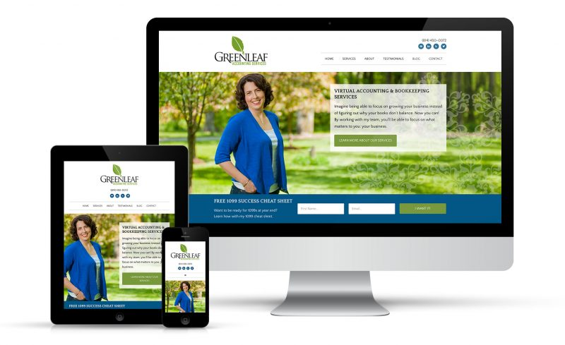 Greenleaf Accounting Web Design