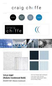 Craign Choffe Branding Board
