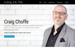 Craig Choffe Website Redesign