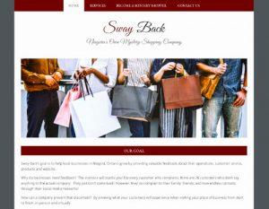 Swayback.ca homepage